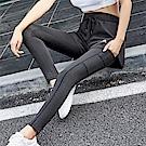 【KISSDIAMOND】高彈力假兩件防走光時尚瘦腿運動瑜珈褲-033