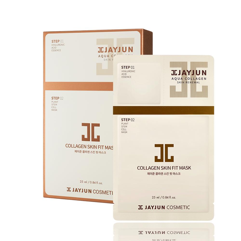 JAYJUN 膠原導入逆齡植物面膜10入/盒(精華1.5ml+面膜25ml)