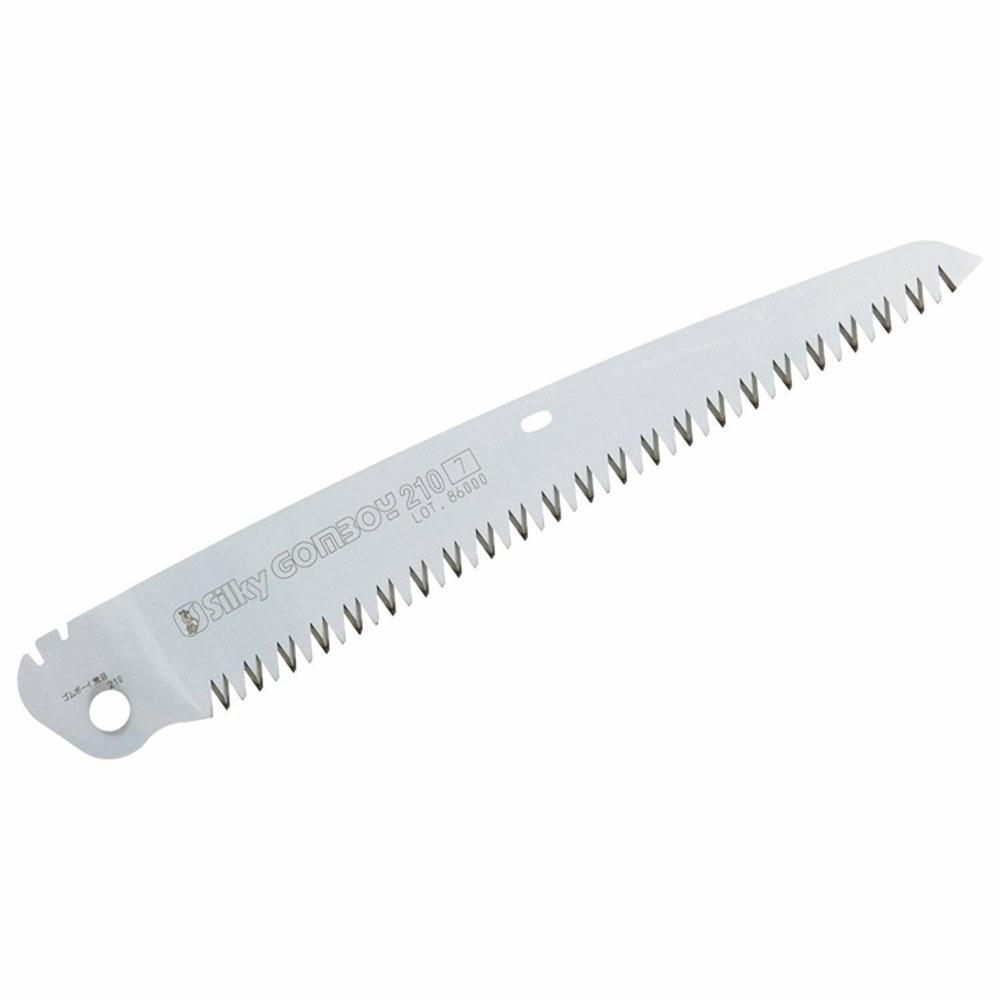 日本製Silky中小型工業鋸子專用210mm替刃295-21(7枚目/30mm荒目;硬鍍鉻韌性鋼)鋸子刀片saw blade