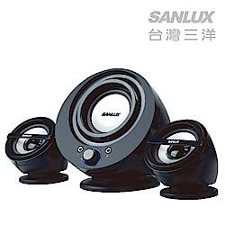 【福利品】三洋 聲之藝2.1聲道多媒體喇叭 SYSP-832