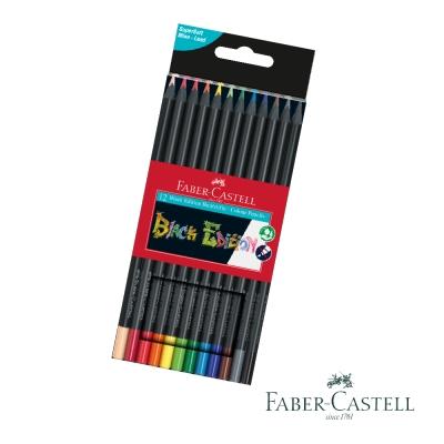 Faber-Castell 紅色系 黑旋風 油性色鉛筆 12色