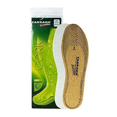 【TARRAGO塔洛革】天然軟木鞋墊(全尺寸可自行剪裁)