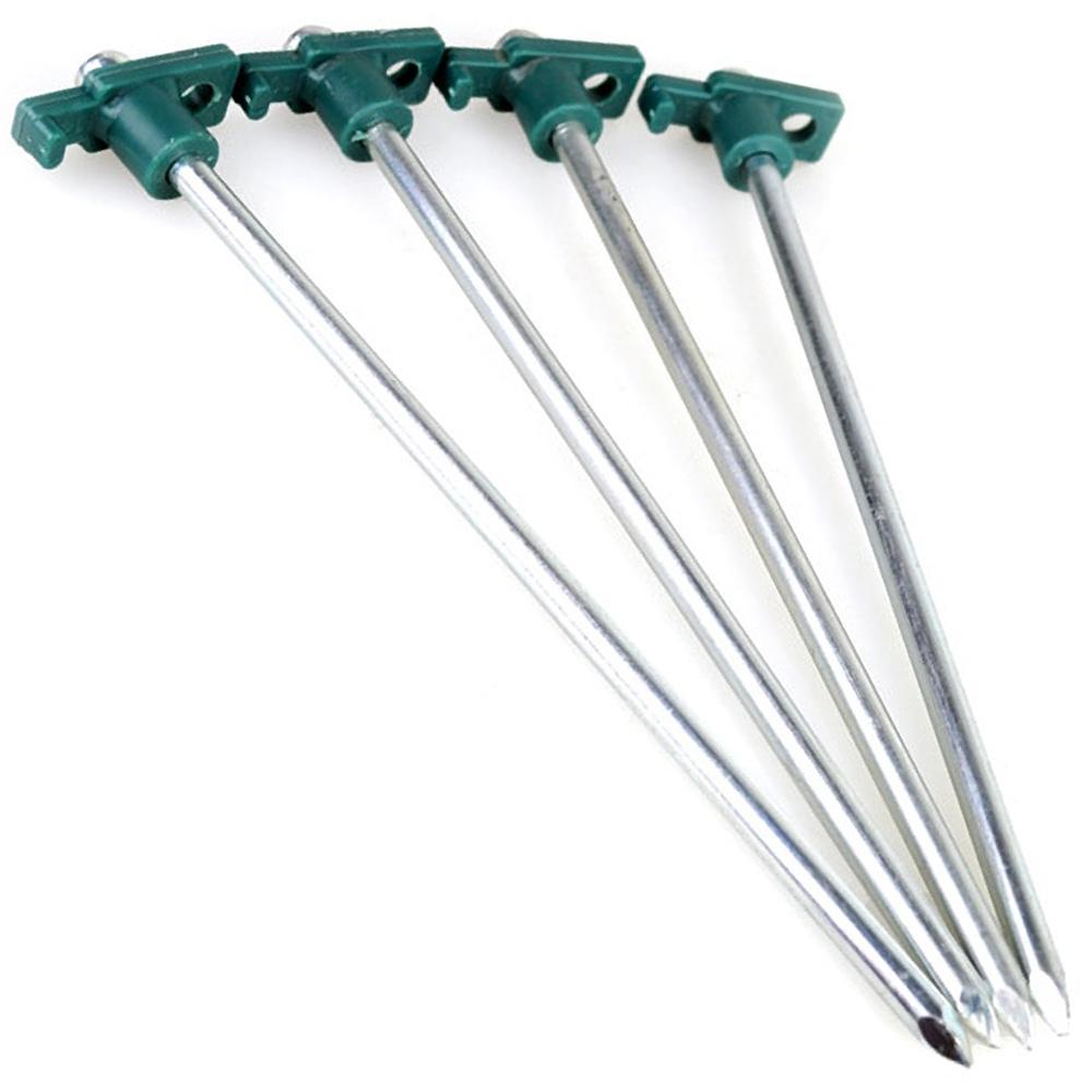 10吋T頭營釘(一組四入) T型尖頭營釘 T頭鋼釘