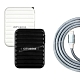 CityBoss 6A電流4孔旅充頭+Micro USB 2.5A傳輸充電線