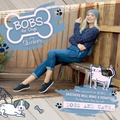 SKECHERS 女運動系列 BOBS B CUTE-113175BLK