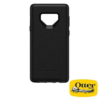 OtterBox Galaxy Note9炫彩幾何系列保護殼-純粹黑