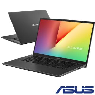 ASUS X412FA 14吋筆電 (i5-10210U/4G+8G/512G/FHD IPS/Vivobook/星空灰/特仕版)