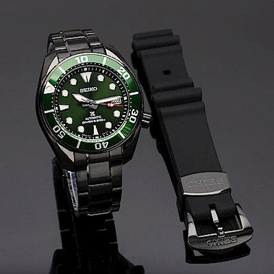 SEIKO 精工 Prospex SCUBA 限量200米潛水機械錶(SPB195J1/6R35-01A0G)-45mm