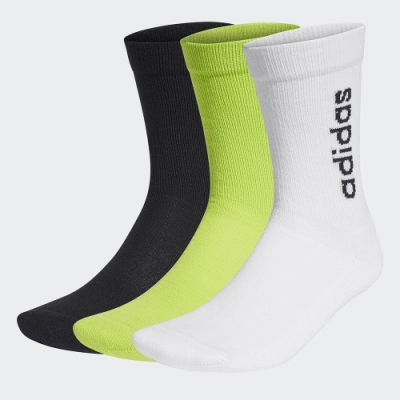 adidas HALF-CUSHIONED VERTICAL 短筒襪 3雙入 男/女 GE1377