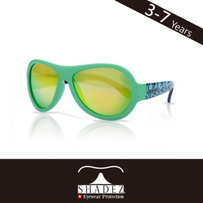 瑞士SHADEZ 兒童太陽眼鏡SHZ-44(年齡3-7)--綠色叢林