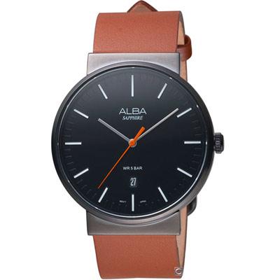 ALBA 雅柏 簡約時尚腕錶(AS9H43X1)43mm