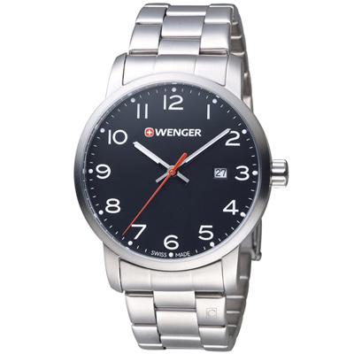 WENGER Avenue 城市雅痞時尚腕錶(01.1641.102)42mm