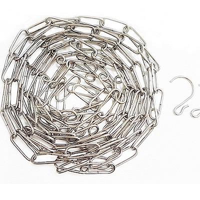 CD006 304不銹鋼曬衣鏈 4.5米 晒衣鏈15尺 多功能型曬衣鍊 鋼鐵鍊