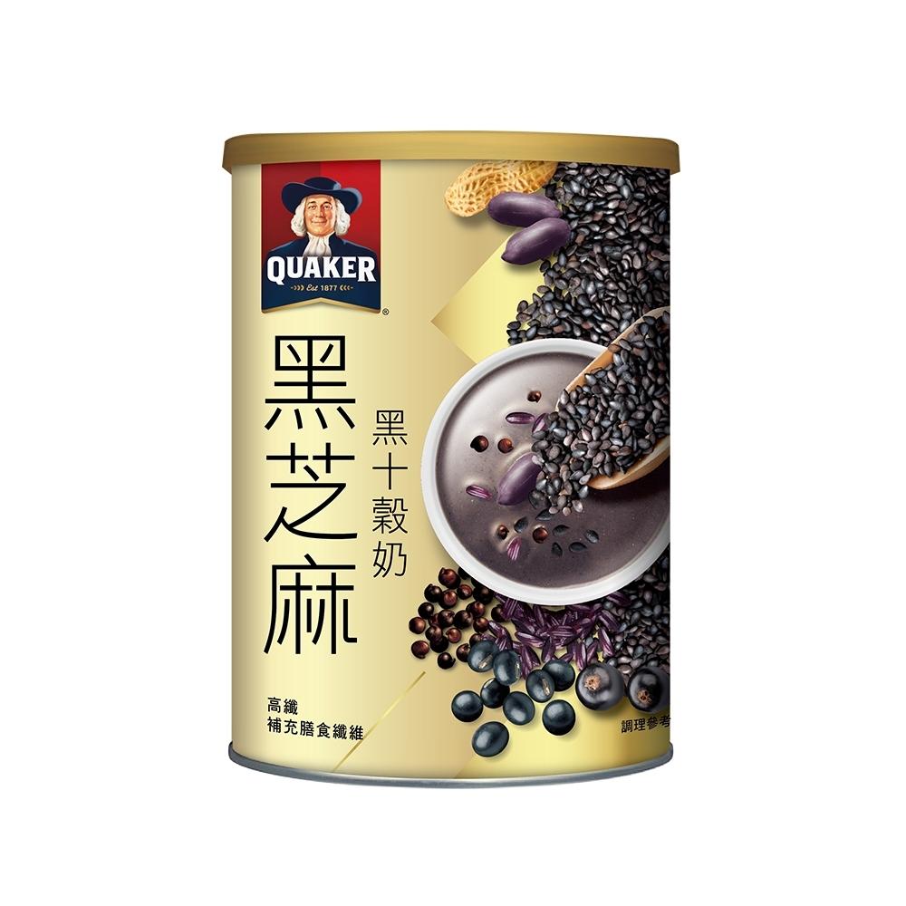 桂格 黑芝麻黑十榖奶(390g)