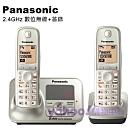 Panasonic 2.4GHz數位答錄大字體雙手機無線電話 KX-TG3721+1 (銀)