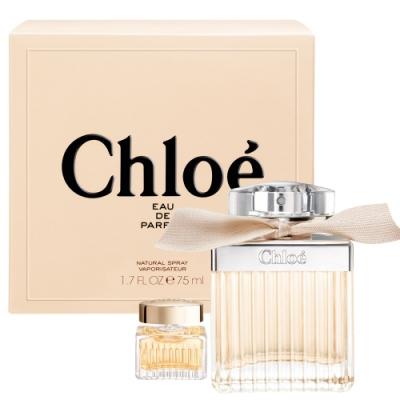 [時時樂限定]Chloe同名女性淡香精 75ml(贈品牌小香5ml)-快速到貨