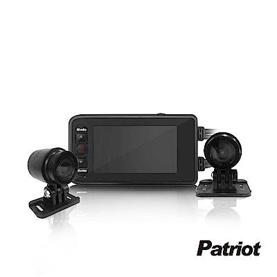 愛國者 PX6000前後HD高畫質雙鏡頭機車行車記錄器-8H