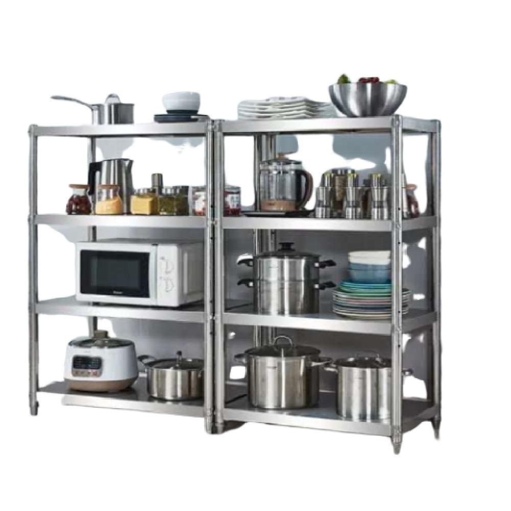 誠宜居家美學 不鏽鋼四層置物架寬60cm 收納櫃