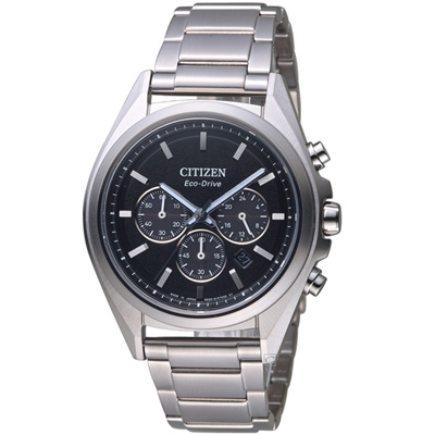 CITIZEN 星辰 強悍時計鈦金屬腕錶(CA4390-55E)42mm