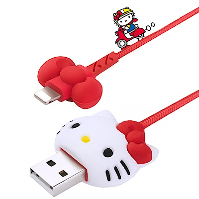 iStyle Hello Kitty 心動蝴蝶結lightning傳輸線 @ Y!購物