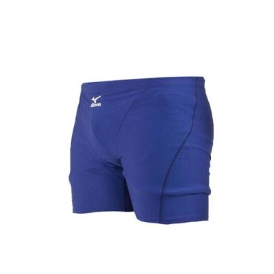 MIZUNO 男 BASIC泳褲 藍