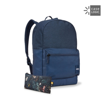 Case Logic-CAMPUS 26L筆電後背包CCAM-2126-雪花紋/深藍