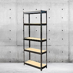 【MS】DIY組裝免螺絲鉚釘角鋼多層收納置物架
