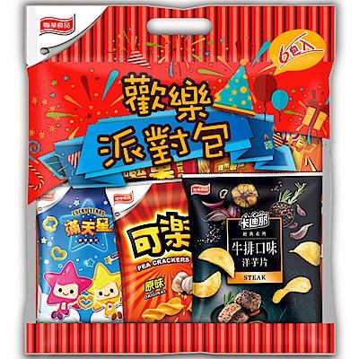 聯華食品 歡樂家族量販包(6包/袋)