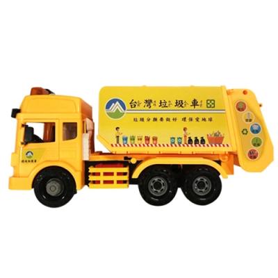 KIDMATE 台灣好車隊/仿真工程車隊 (磨輪垃圾車)