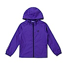 FILA KIDS 童吸濕排汗風衣外套-紫 5JKS-8322-PL
