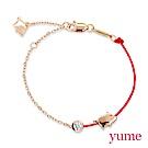 YUME (豬年限定)轉運豬豬紅繩手鍊