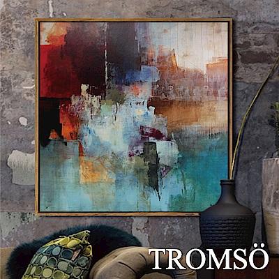 TROMSO北歐風尚板畫有框畫-光彩奪目60X60CM