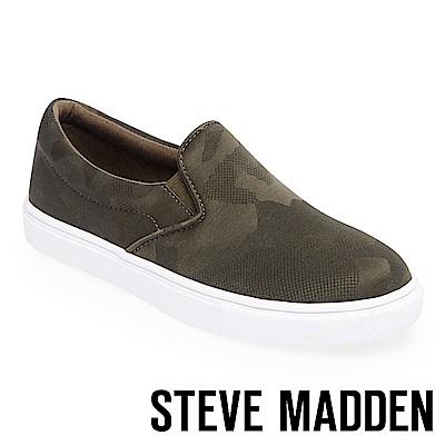 STEVE MADDEN-ECENTRIC 厚底懶人鞋-墨綠