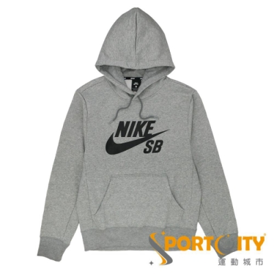 NIKE AS NK SB ICON HDIE PO ESSNL 男 連帽上衣 灰