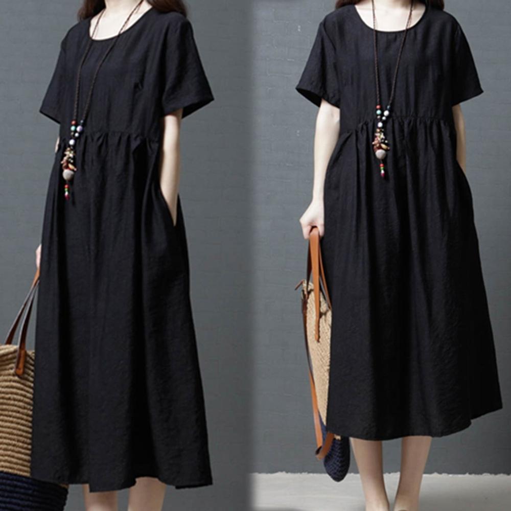 【韓國K.W.】韓國設計柔美簡約洋裝-3色