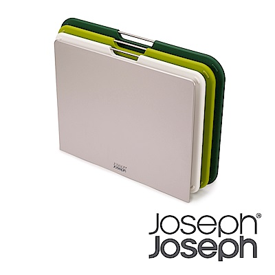 Joseph Joseph 好抽取止滑砧板三件組(大-高原綠)