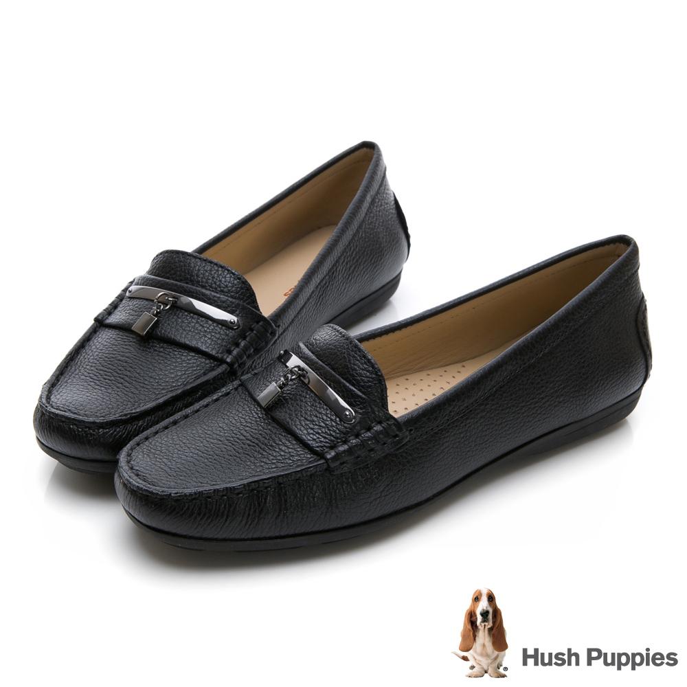 Hush Puppies RENITA 百搭樂福鞋-黑