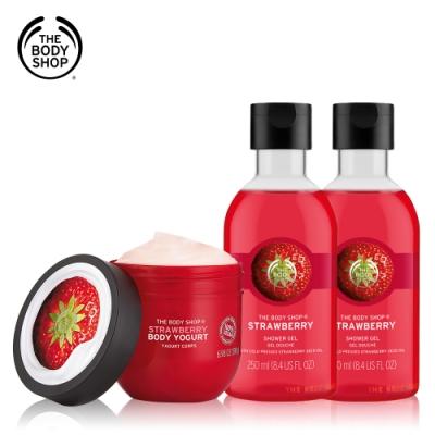 The Body Shop 草莓嫩白美肌組