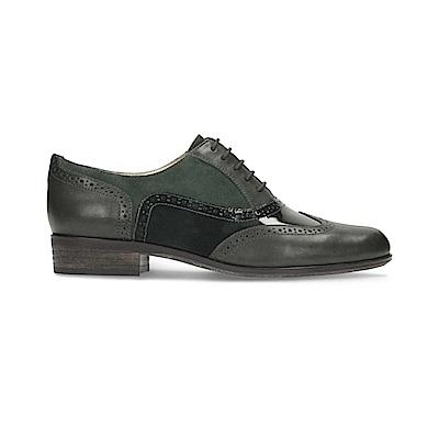 Clarks Hamble Oak女休閒鞋 黑綠