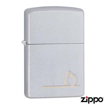 美系Zippo Flame Design 火舞疊影防風打火機49210