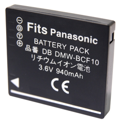 Kamera 鋰電池 for Panasonic S009/DMW-BCF10