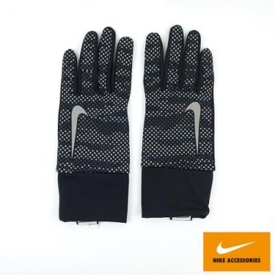 NIKE 男用反光2.0跑步手套 灰黑  NRGD5078