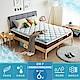 HomeMeet 格治水冷膠降溫調節蜂巢式獨立筒床墊-雙人加大6尺 product thumbnail 1