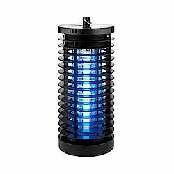 KINYO 6W電擊式無死角UVA燈管捕蚊燈(KL-7061)吊環設計