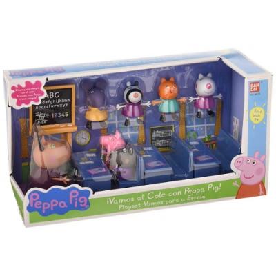 Peppa Pig 粉紅豬小妹 - 教室組(7人公仔)