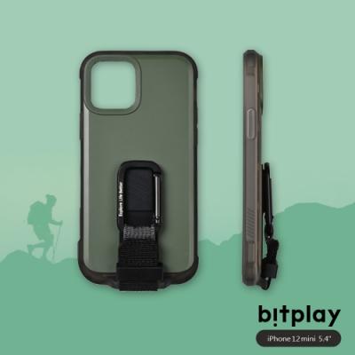 bitplay Wander Case iPhone 12 Mini (5.4吋)專用 獨創支架扣環掛繩軍規防摔立扣殼▲綠