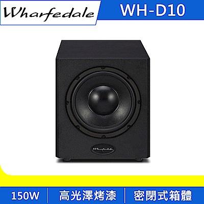 英國Wharfedale 10吋主動式超低音 WH-D10