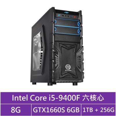 技嘉B365平台[冰刃鬥神]i5六核GTX1660S獨顯電玩機
