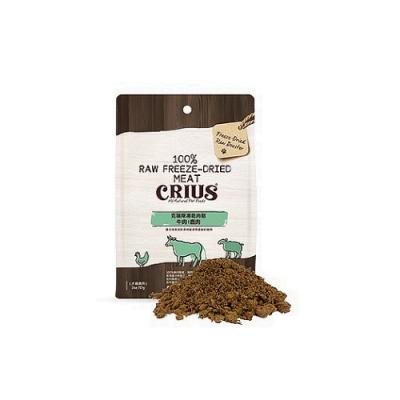 CRIUS克瑞斯 牛肉+鹿肉凍乾肉鬆 2oz/57g (犬貓適用)