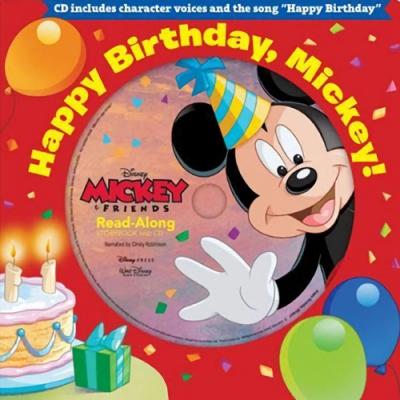 Happy Birthday, Mickey! 米奇的生日硬頁書(附CD)